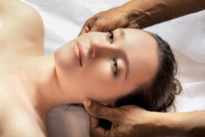 Abhyanga is an Ayurvedic massage performed with medicinal herbs & warm oil. The oil is used on the whole body