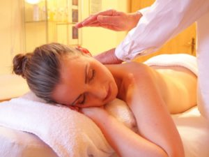 Ayurvedic massage uses integrative therapies to relieve stress & anxiety. Organic oil blends for detoxification are selected for the Dosha imbalance.