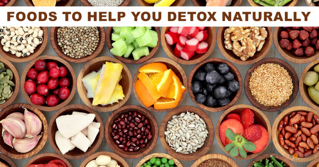 Toxins can interfere with the detoxification process. Foods rich in vitamins & antioxidants can help naturally aid your body to cleanse and detoxify.