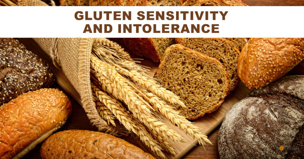 People with non-celiac gluten intolerance or sensitivity may experience abdominal pain & bloating after eating foods that contain gluten.