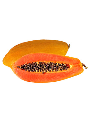 Papaya is yummy & has powerful antioxidants that lower the risk of conditions like heart disease