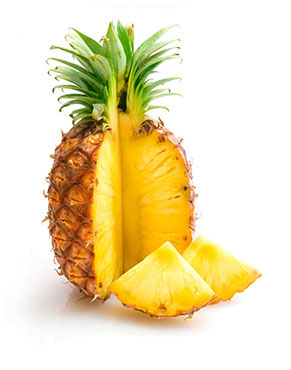 Health benefits of Pineapple in nutrition as natural medicine supported by science & research
