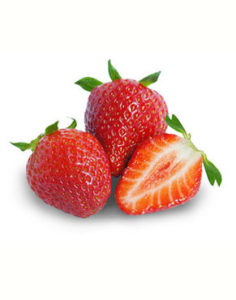 Strawberries have low carbs & calories