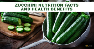 Zucchini contains compounds that help cancer prevention & diabetes. It may be good for your heart.